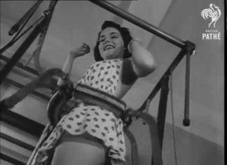 Női fitness a 40-es évekből