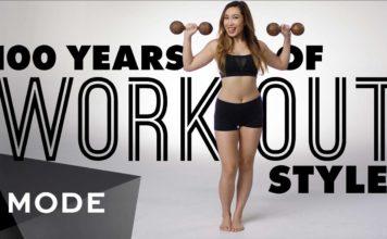 A női edzés fejlődésének 100 éve