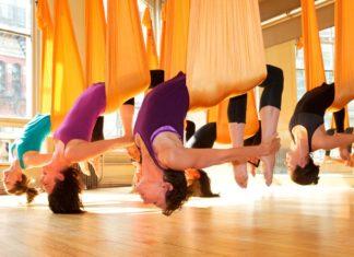 aerial, antigravity joga