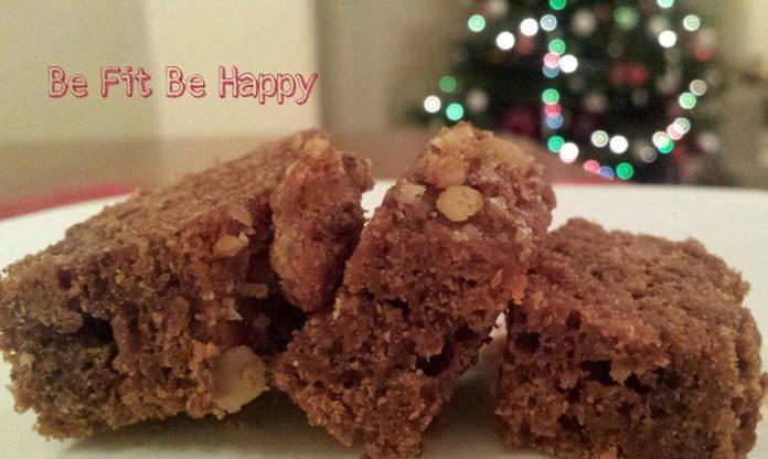 karácsonyi fitness süti csokis répás kocka